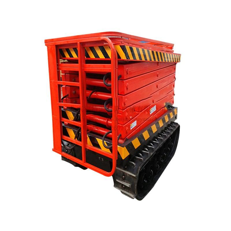 Hydraulic lift ตารางมอเตอร์ scissor lift elevated work platform