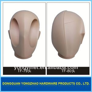Factory direct price human hair styling heads for practice