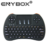 Eny Hot I9 Mini 2.4Ghz Black Cheap Mini USB Receiver USB Mini Keyboard