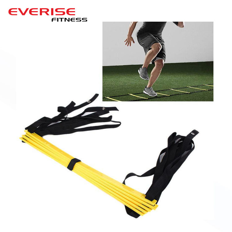 Football Soccer Ball Training Adjustable Speed Sports Agility Ladder