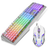 2016 Qant new design high quality professional mechanical gaming wired mouse and keyboard combo