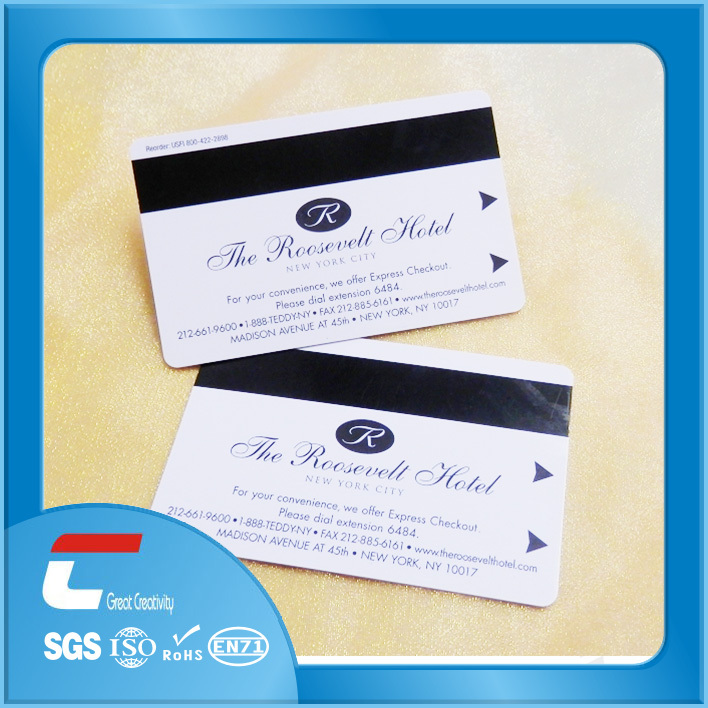 Hilton Hotel Key Card With Chip/magnetic Card Hotel/hotel Magnetic ...