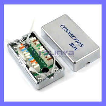 Cat.5 Cat.6 Rj45 Cable Box Rj11 Connection Box - Buy Rj45 Cable Box ...