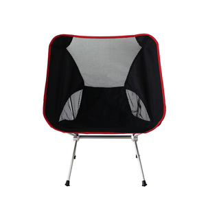 Lightweight Folding High Back Camping Chair with Headrest, Portable Compact for Outdoor Camp