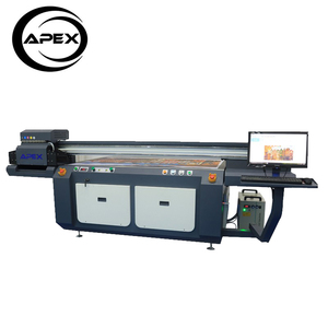 Hot Selling LED Flatbed Printing front and back dx5 large format uv printer