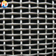Flat top curved stainless steel crimped mesh