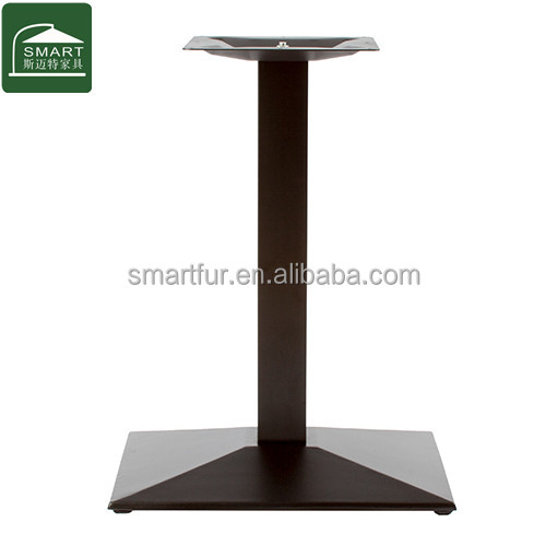 High quality very strong marble table base cast iron table base china supplier