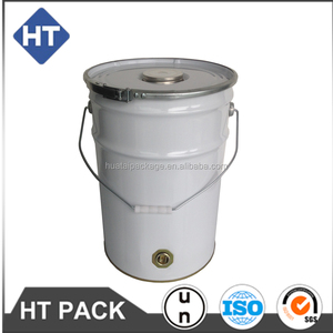tin pails 20l,chemical metal paint bucket/tins/drums,steel drum lids