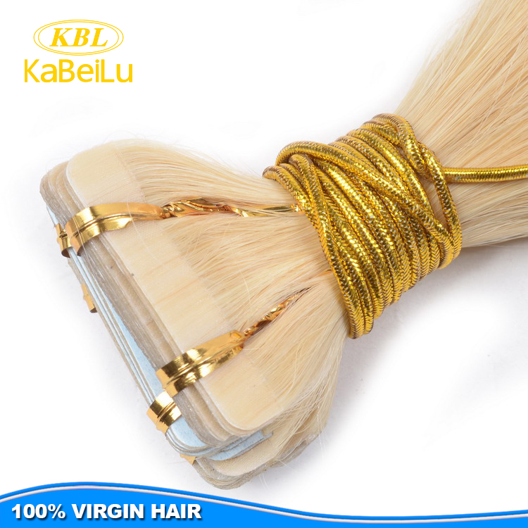 High feedback and quality tuneful hair,virgin brazilian tape hair extensions making machine