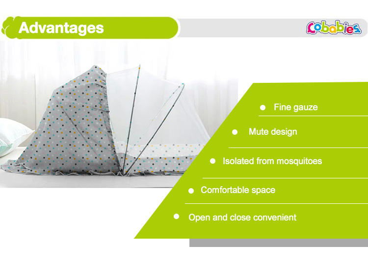 High Quality Folding Baby Umbrella Mosquito Nets For Baby Cot, Baby Household Travel Mosquito Tent/