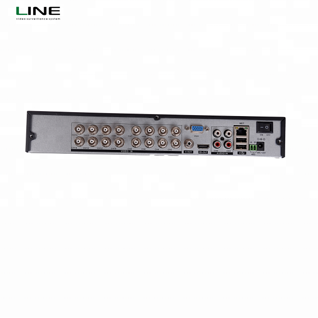 5Mp 24 Tb 5 in1 cms cvi 16 channel Ahd Hybrid monitoring NVR h.264 network security cctv Motion Detection <strong>Dvr</strong>