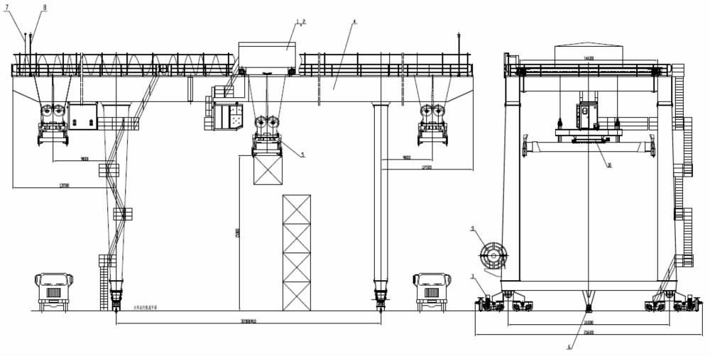 Ship To Shore Gantry Crane Definicion : Industrial use ship to shore quayside container gantry