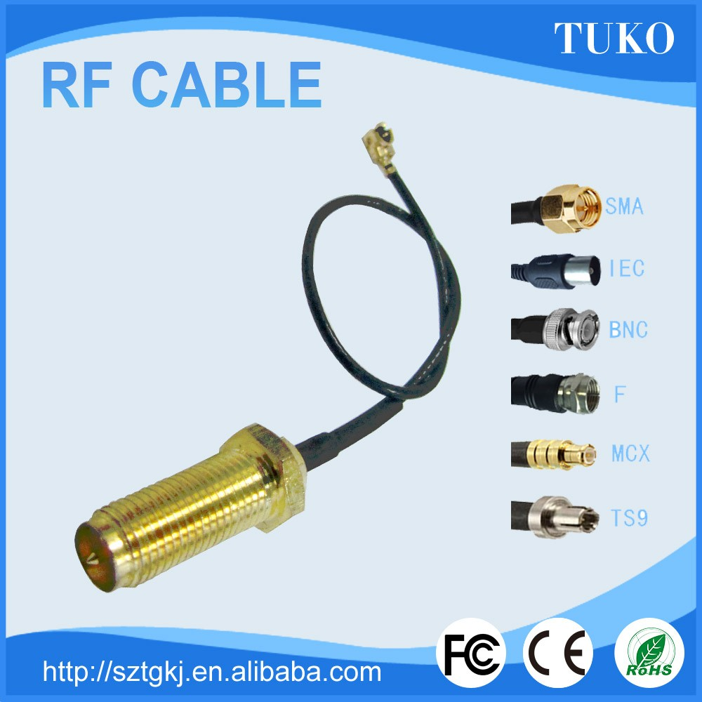 2017 trending products best price RF cable Assemblies SMA Male Connector 75 ohm RF coaxial cable