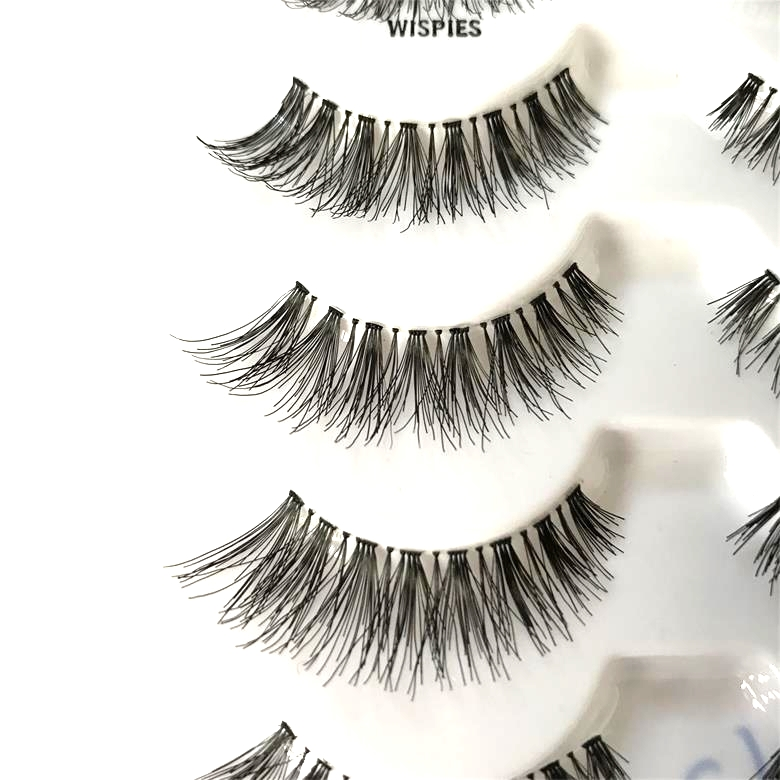 4604829168d Cheap Price Wholesale Lashes 5 Pairs <strong>Synthetic</strong> Hair Premium