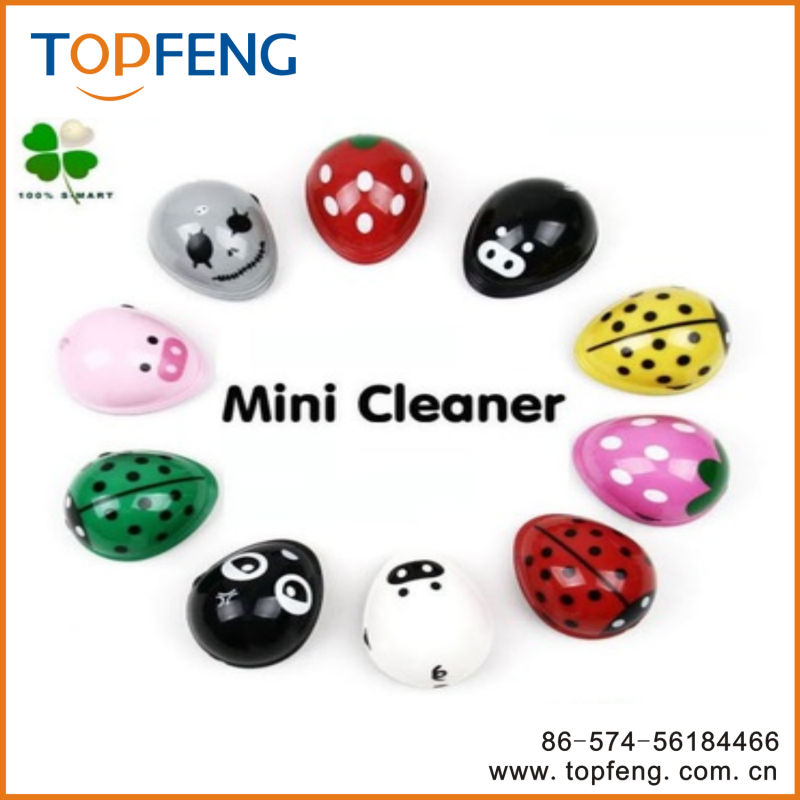 table dust collector /Mini Tabletop Vacuum/ Lovely cartoon mini desktop vacuum cleaner