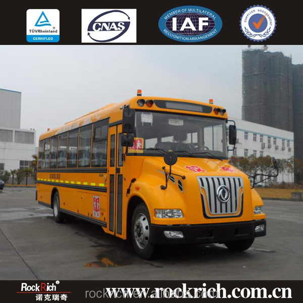 Factory outlets dongfeng school bus new prices safe school bus model yellow school bus for sale