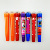 5colors roller seal watercolor pen,stamp marker set