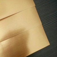 factory 125gsm gold aluminized paper for box cover