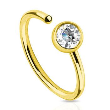 Order Piercings Online Nose Ring Gold Jewellery Nose Ring Hoop