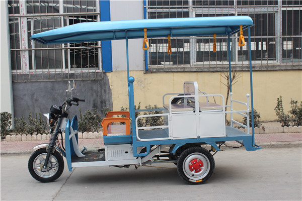 Romai Electric Cargo Trike /battery Auto Rickshaw With Abs Roof ...