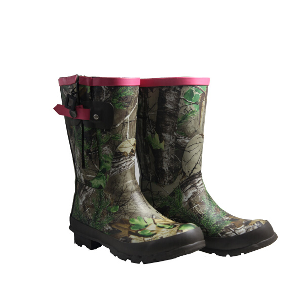 Camo Rain BootsCheap Women Rubber Rain BootsRain Boots With