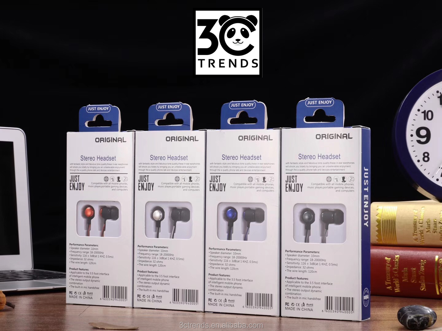 Headphone earphone, earphone untuk iphone, sport earphone