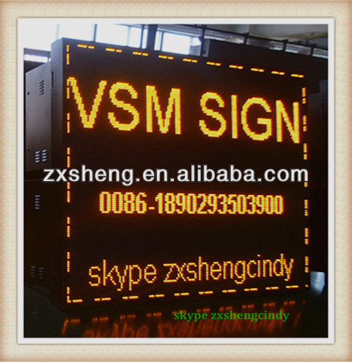 china supplier electronic LED VMS sign / VMS display board