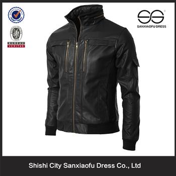 Custom Mens Leather Jacket MotorcycleCheap Mens Bomber Jackets