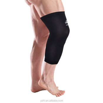 High Content Copper Nylon Compression Knee Sleeve with Cheap Price