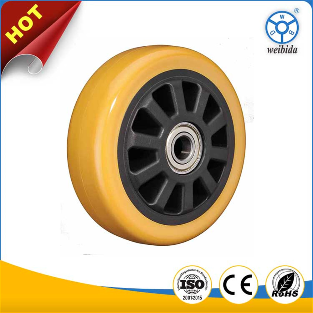 WBD Chinese manufacturer cheap price industrial use pvc or pu wheel