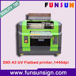 Best price UV emboss iphone case printer A3 size id card printer