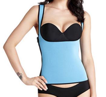 9a13df47ed Neoprene Suit Women Sport Slimming Belt Body Corset Waist Trainer Burn Fat  Vest Tops Sauna Sweat