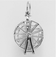 2016 hot sale ferris wheel charms for bracelet zinc alloy charms for necklace