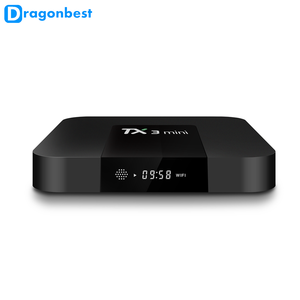 [ Amlogic S905W ] Android 7.1 TV BOX TX3 MINI 1g 16g smart tv box with KDplayer 17.3 Quad Core 3 in 1 av port