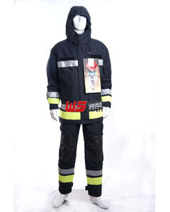 firefighter turnout gear to protect firefighters from Xtreme heat , burns and other hazardous injuries