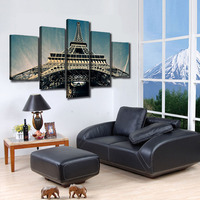 Photo prints cheap china custom printed digital printings home wall decoration 5sets art