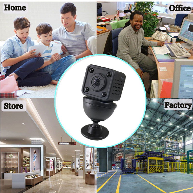 1080p wireless  hd pinhole wifi security hidden ip cctv camera for bedroom