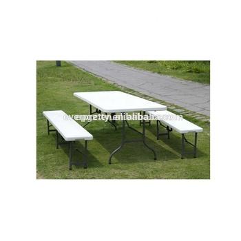 белый портативный открытый обеденный стол с скамейкамипластиковый складной обеденный стол для продажидешевые пластиковые столы и стулья Buy