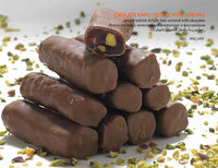 CEREZATA TURKISH DELIGHT BARS WITH COVERED CHOCOLATE AND PISTACHIO