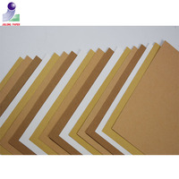 Manufacture Professional color brown recycled/packing/kraft paper sheets for greeting card and gift boxes wrapping