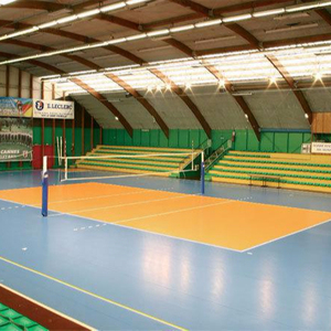 FIVB approved Volleyball Court Mat Sports Flooring