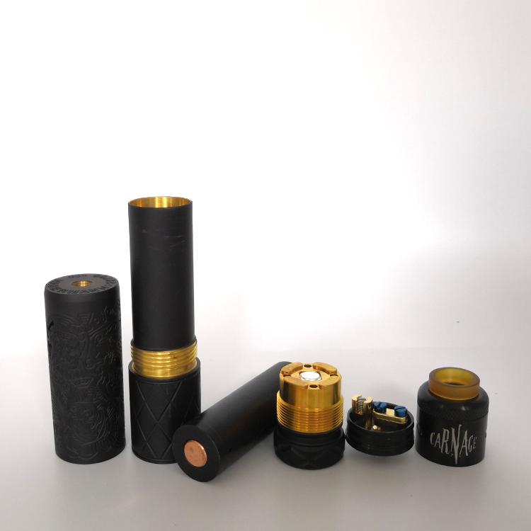 Best classic 18650 RDA DIY mechanical vapor e cigarette melody vape box mod kit