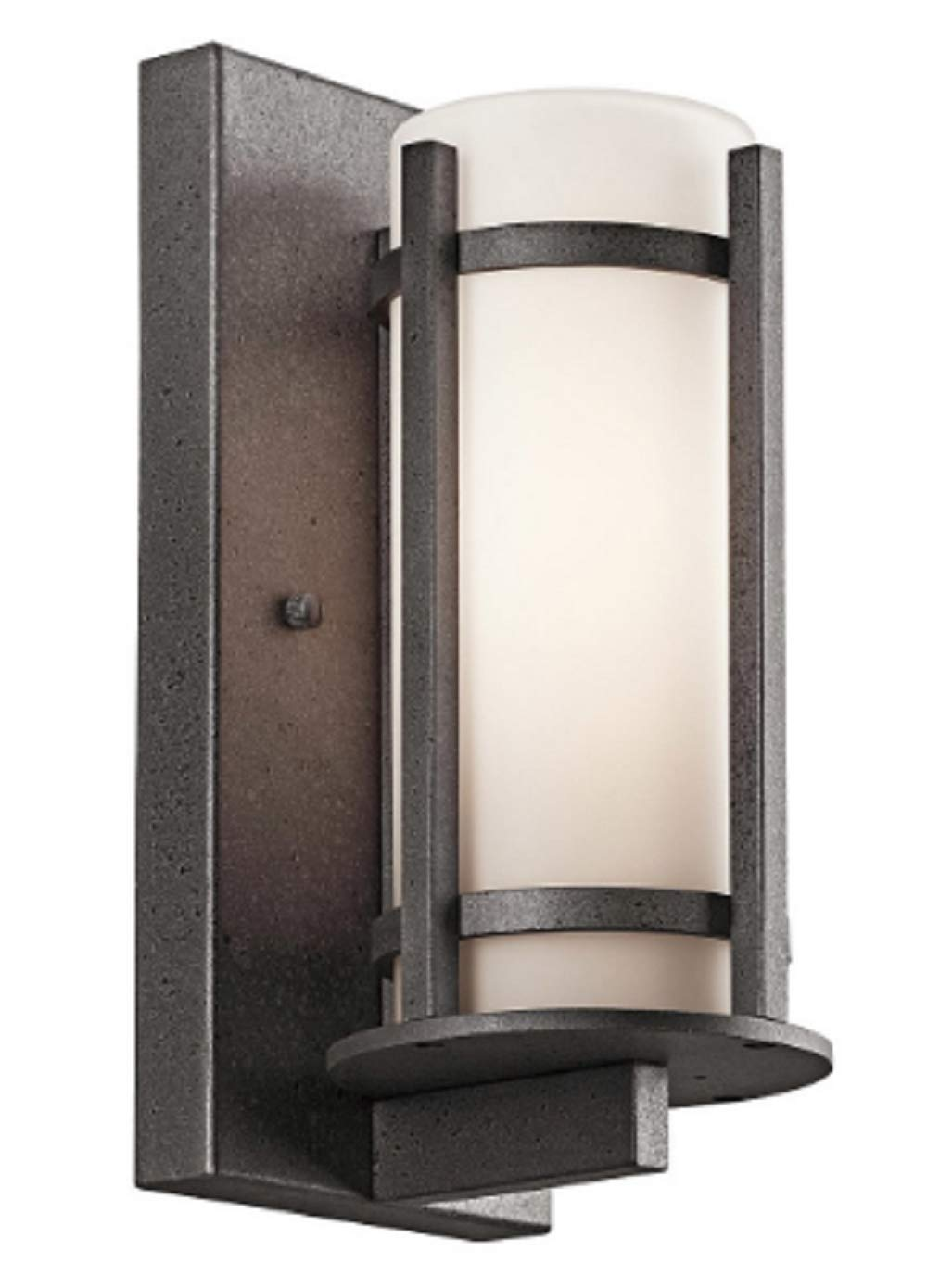 "Kichler Lighting 49123AVIFL Camden Outdoor Light fits 3/"" Post Anvil Iron"