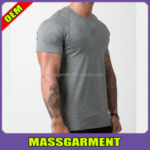Blank Dry Fit Cotton T Shirts Fitness Running Custom T Shirts For Man