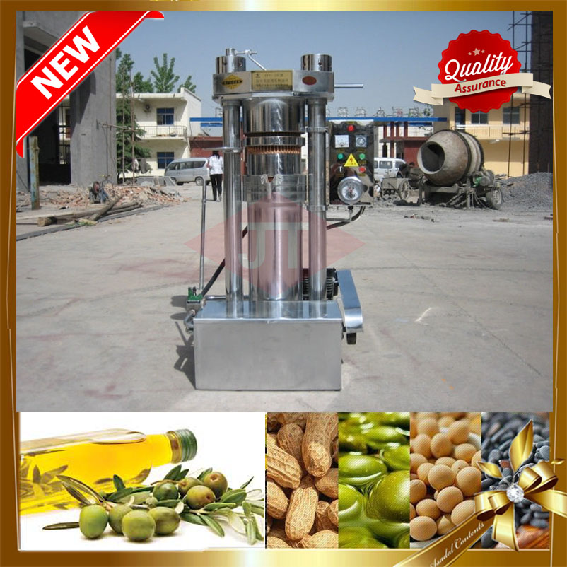 Automatic hydraulic oil press/oil press machine / hydraulic sesame oil press machine with high presing oil rate
