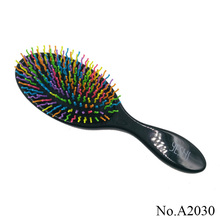 A2030 Magic Hair Comb Brush Rainbow Volume Styling Tools Anti Tangle Anti-static Head Massager Hairbrush