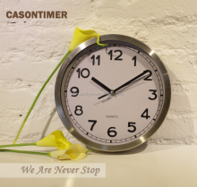 Cason Customized Aluminum Wall Clock With CE ROHS