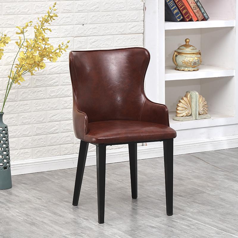 Venta al por mayor tapizar sillas de comedor de metal-Compre online ...