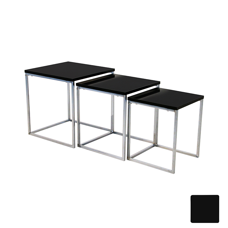 Popular simple design 3 pieces coffee table side table living room coffee table <strong>furniture</strong> D-001