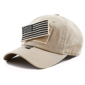 f8b2e6a55e4 Durable Unisex American Flag Custom Embroidered Tactical Patch Special  Forces Operator Fitted Trucker Baseball Hat Cap